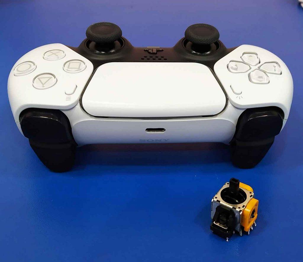 Ремонт джойстика/геймпада sony PS5 DualSense в Запорожье